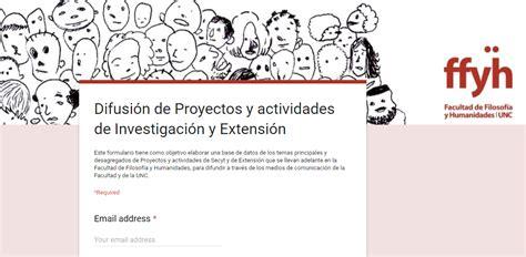 Programa De Investigacin Y Difusin La Educacin | difusi 243 n de proyectos de investigaci 243 n facultad de
