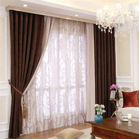 modern curtains and drapes classic and modern contemporary curtains of chenille fabric