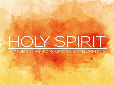 Holy Spirit As The Comforter by Pin By Amanda On Church