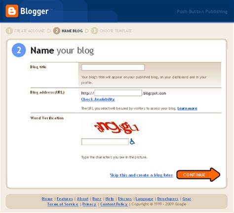 build blog steps to creating your very first blog website with