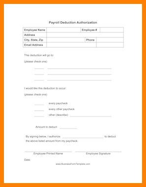 Sle Salary Deduction Letter Employee 10 Sle Salary Deduction Letter Employee Sales Slip Template