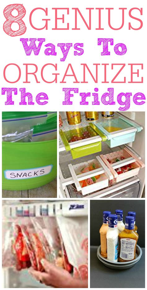 8 Ways To Arrange Your Books by 8 Genius Ways To Organize Your Fridge Frugally