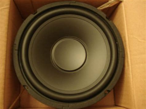 Speaker Woofer 10 Inch new 10 quot subwoofer home audio speaker 8ohm replacement woofer ten inch sub poly ebay