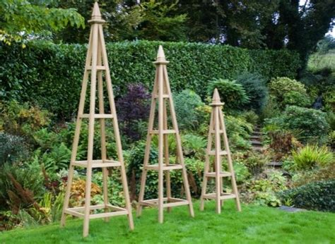 How To Build An Obelisk Trellis wooden obelisk trellis plans diy free how to build a mini garden