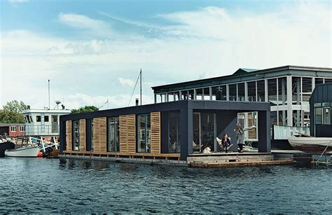 floating homes each day at this floating home begins with a swim just