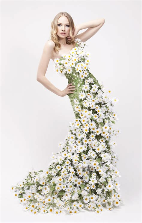 Flower Dress stunning floral dresses for yardley advertising