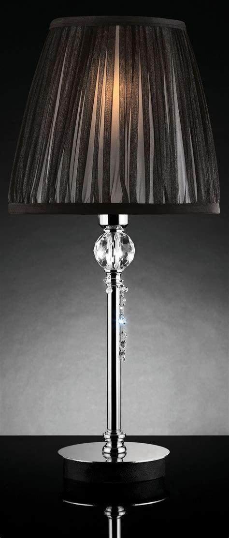 hanging crystal table l quiana black sheer hanging crystal table l set of 2