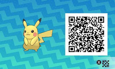 Boneka Pikachu Code 011 qr codes de tous les pok 233 mon de soleil lune