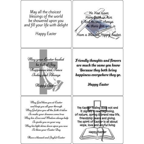 Easter Poems For Cards