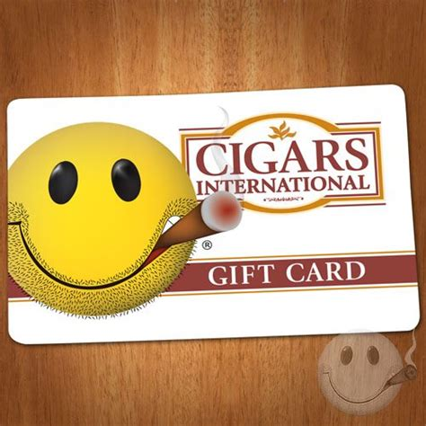 International Gift Cards - gift cards cigars international