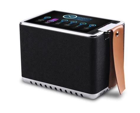Lu Speaker Bluetooth Radio Touchscreen L Emergency 1 wifi radio bluetooth speaker with 8 high definition touchscreen 8 hour playtime metal