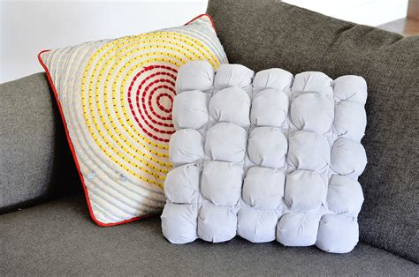 how to puff up pillows make your own puff quilted pillow cover a beautiful mess