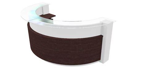 reception desk cad curved reception desk rhino 3d cad model grabcad