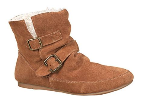 brown suede flat ankle boots boot ri
