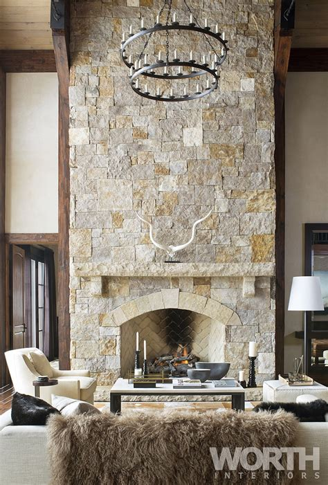 Chalet Fireplace by 10 Chalet Chic Living Room Ideas For Ultimate Luxury And