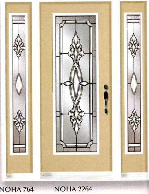 Stained Glass Door Inserts And Wrought Iron Door Inserts Glass Door Insert