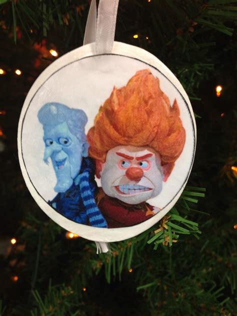 heat miser christmas ornament mr heat miser mr snow miser ornament