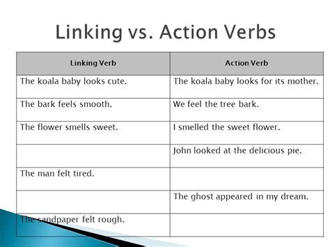 verbs types of verbs infinitives ppt