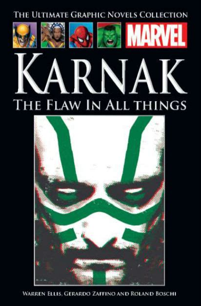 karnak the flaw in the official marvel graphic novels collection 154