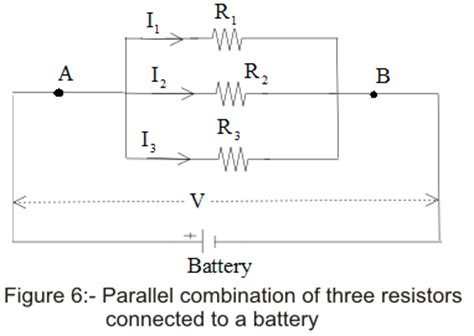 when different resistors are connected in parallel across an ideal battery we can be certain that resistors in series parallel combinations