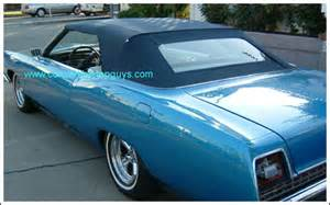 1969 70 ford galaxie 500 500xl convertible tops and