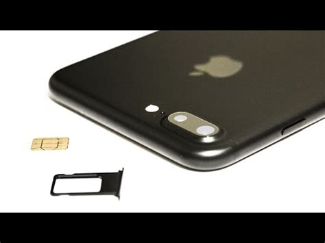 iphone 7 8 plus how to insert remove a sim card