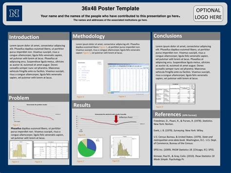scientific poster template powerpoint ppt 36x48 poster template powerpoint presentation id