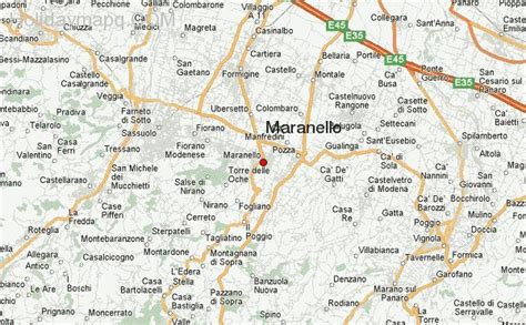 maranello italy map of italy maranello 3 holidaymapq com