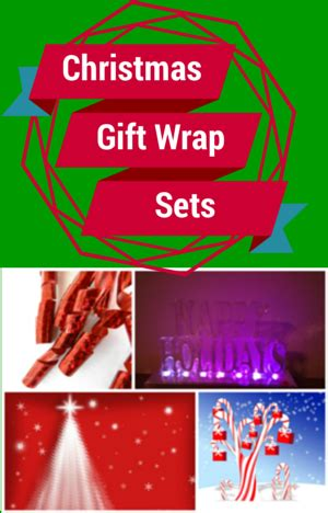 christmas gift wrap sets my choice finds