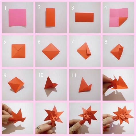 membuat origami bunga lotus cara membuat hiasan dinding kamar sendiri dari kertas