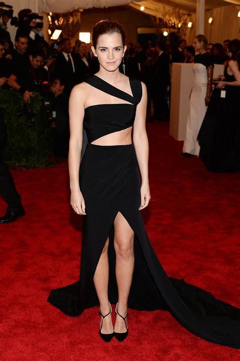emma watson red carpet dresses emma watson at the met gala 2013 pictures popsugar