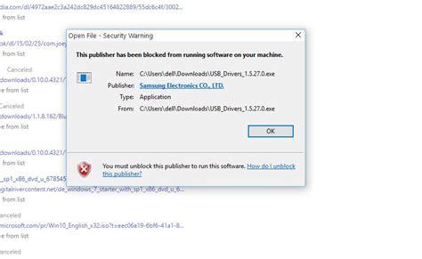 unblock publisher in windows 10 microsoft community unblock publisher to run software windows 10