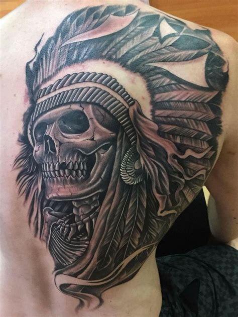 native american skull tattoos 16 best indian skull designs images on