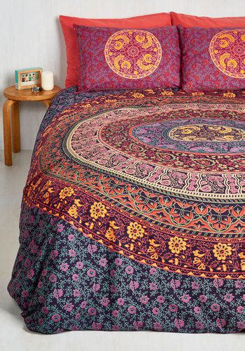 Chelsea Gold Bed Cover Singel Polos 100x200cm Blue Sky boho bohemian bliss duvet cover set in from modcloth