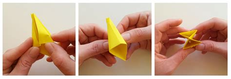 Tulip Origami Step By Step - origami tulip tutorial hobbycraft