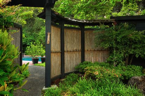 Backyard Bamboo Fencing by 3 Ways To Add Privacy To Your Outdoor Space