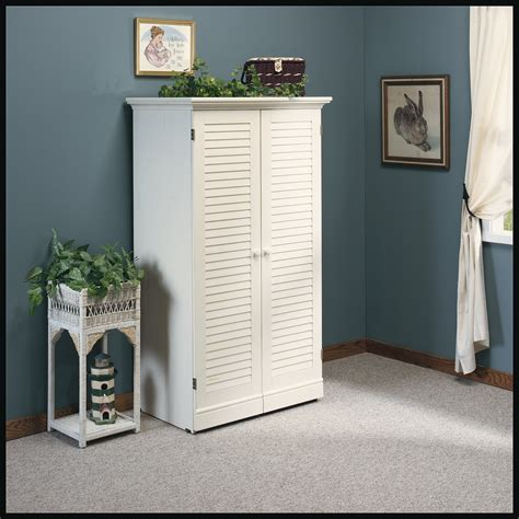 sauder harbor view craft and sewing armoire antique white sauder harbor view craft armoire