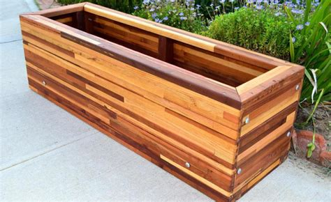 raised planter box raised redwood garden boxes gardening flower and vegetables