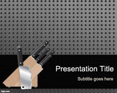 powerpoint templates kitchen kitchen tools powerpoint template