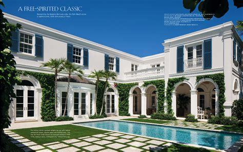 palm beach house the glam pad a blue and white regency bermuda in palm beach