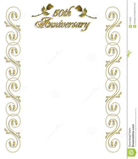 wedding golden border 6 best images of 50th wedding anniversary graphics