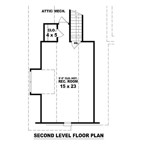 second floor floor plans french house plans home design su b2099 445 763 fc