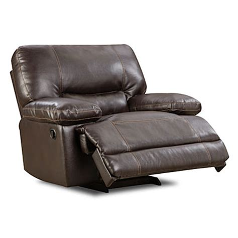 rocker recliner open view