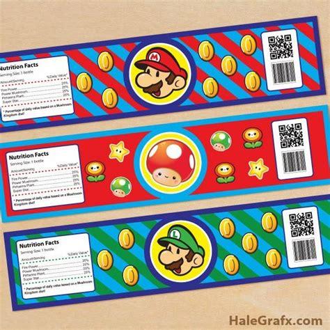 Bros Label Pin Tuspin 2 In 1 Kalung Kode Okto 20d kit de mario bros para imprimir gratis para imprimir gratis recortables free