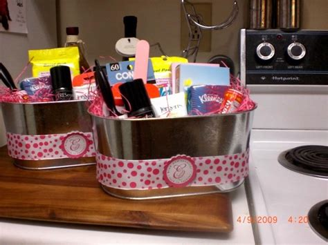 wedding bathroom baskets also navy flip flops in the