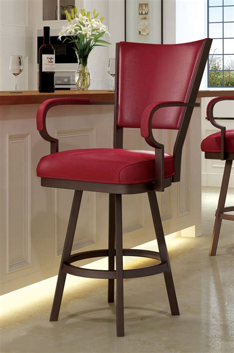 24 Swivel Bar Stools With Arms by Callee Laguna Swivel Stool With Arms 24 26 30 34 Quot