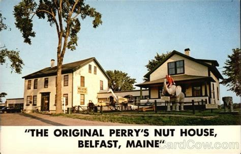 Perry S Nut House Belfast Maine Places I Go To Or Have Gone Pint