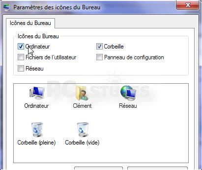 cacher icone bureau ajouter ou retirer des ic 244 nes syst 232 me du bureau windows 7