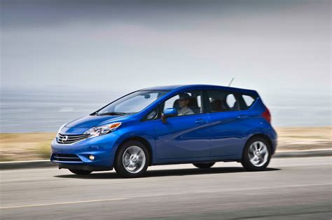 nissan versa note reviews and rating motor trend