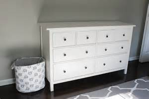 white ikea dresser nursery progress ikea hemnes dresser erin spain